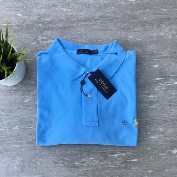 Ralph Tall 4xb Polo Fit Lauren Shirt Bigamp; Classic Nwt KTJ1cul3F